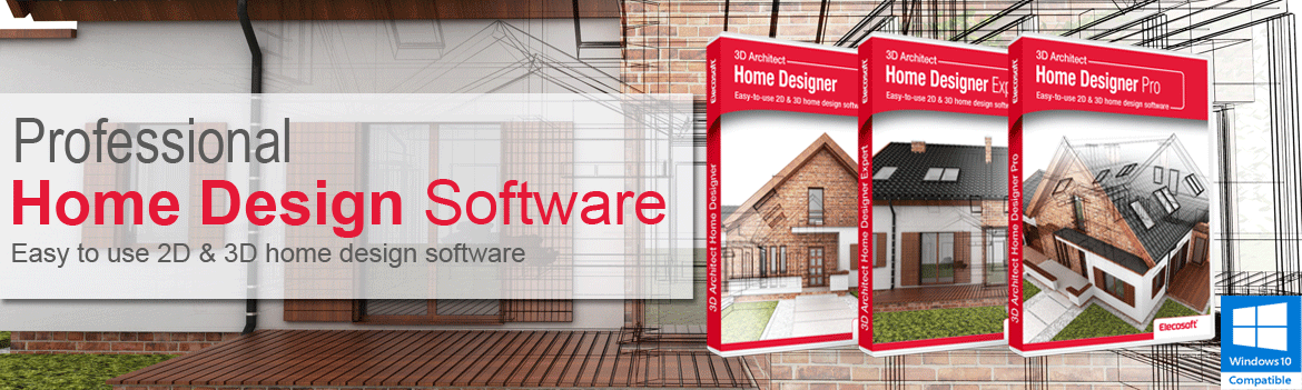 Design your own house with 3d architect home design software for Design your own home software