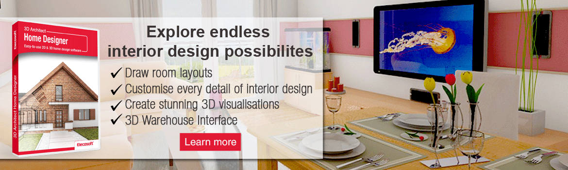 3D Architect for interior design