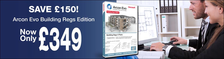 Save £150 Arcon Evo Building Regs