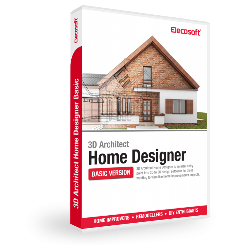 3d architect home designer software for home design elecosoft Home design architecture 3d