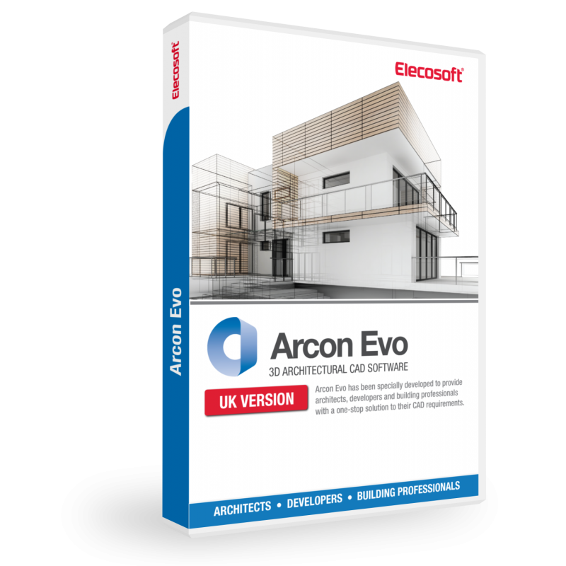 Arcon evo 3d architectural cad software elecosoft 3d home builder software
