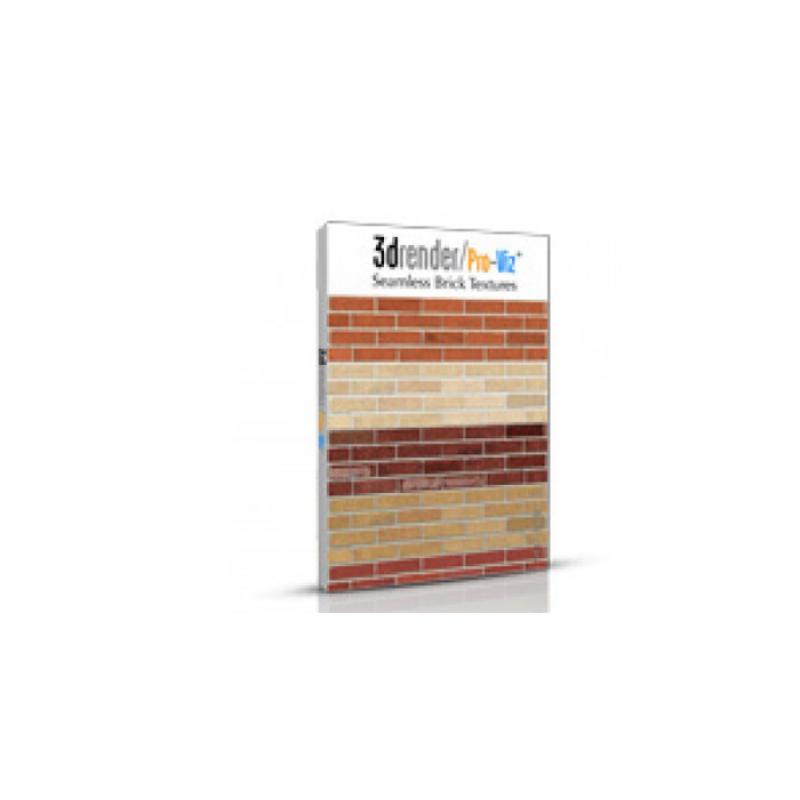 Brick textures for exterior wall design