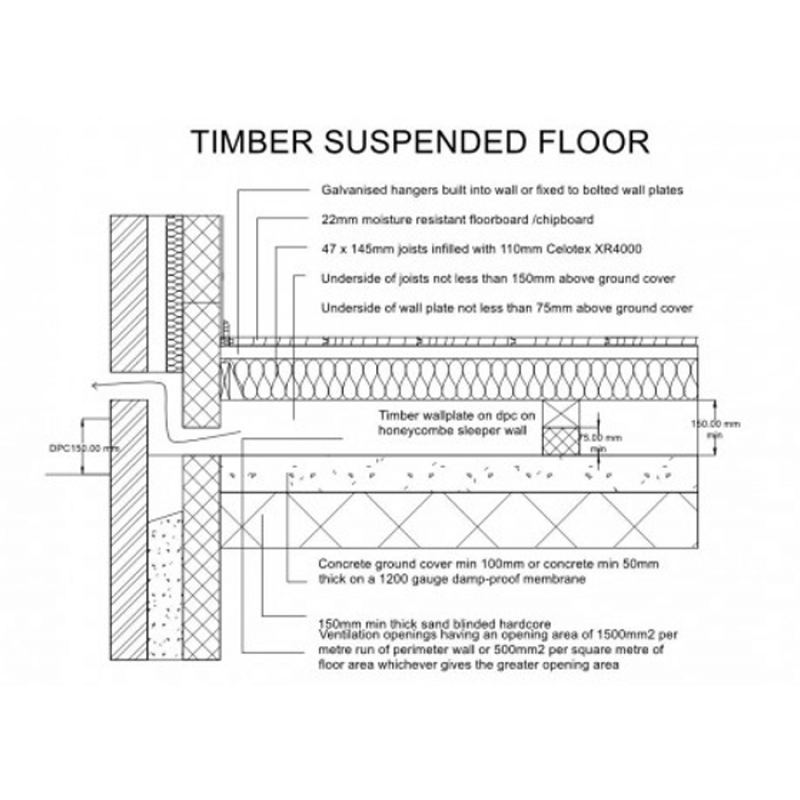 Building regs: Timber suspended floor