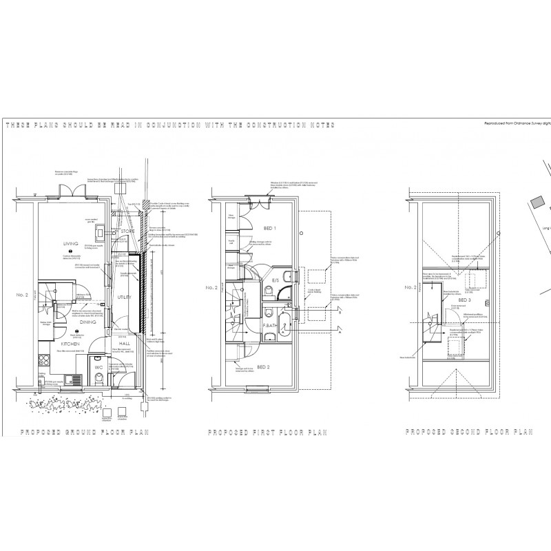 detailed floor plans
