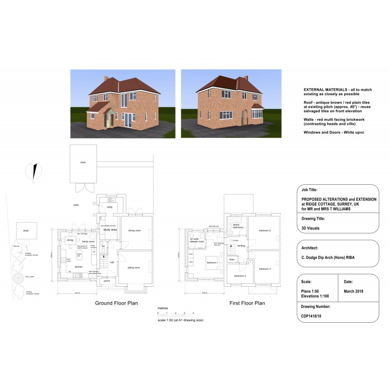planning application 3d