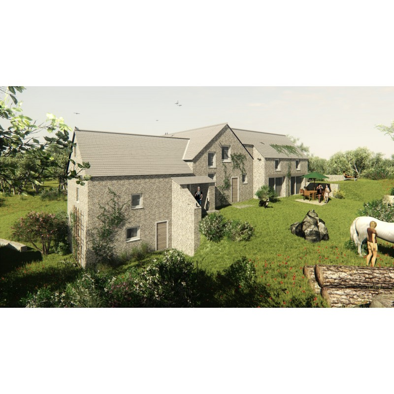 3d watermill design