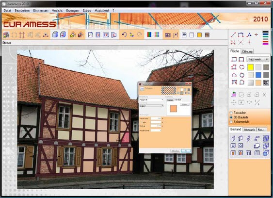 Software for the Survey of Buildings