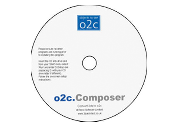 Convert 3d models into 3DS files with o2C composer