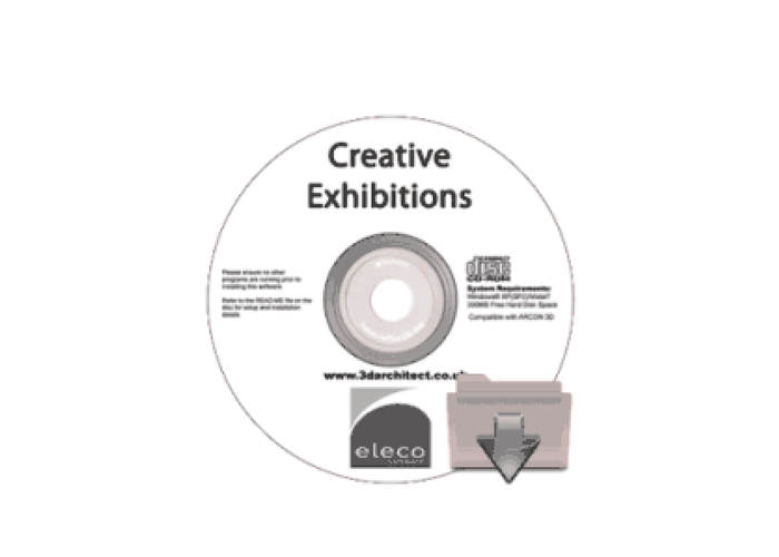 3D objects for exhibition designs