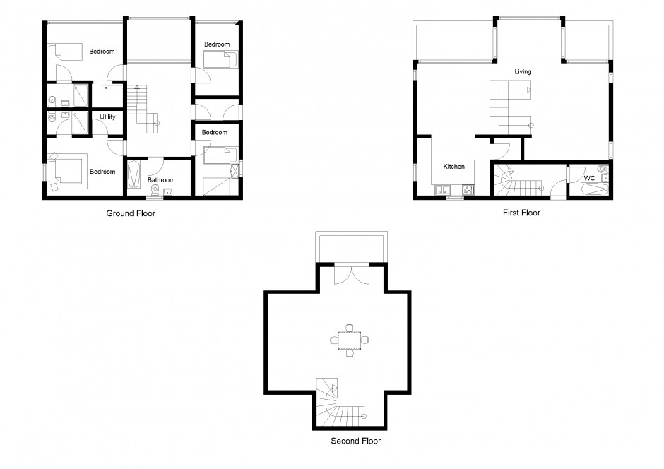 Appealing house plan 2d drawing contemporary best idea for 2d plan drawing software