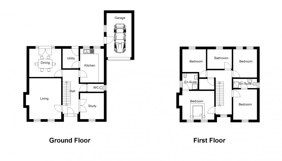 2d drawing gallery floor plans house plans for Plan 2 d