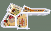 3D floor plan: Brigitta Huettemann, Planungsbüro Hüttemann, www.planungsbuero-huettemann.de