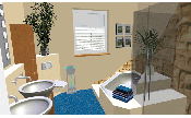 Bathroom interior design: Brigitta Huettemann, Planungsbüro Hüttemann, www.planungsbuero-huettemann.de