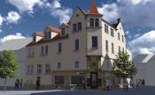 Building design by: Roland Escher, Gruppe93, Niederlassung Bayreuth, www.gruppe93.de