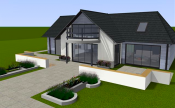 Family house design sample