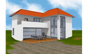 Residential house design sample