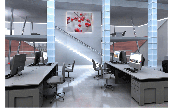 Office interior design: Frank Dobbert, www.naturplan.de