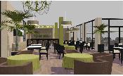 Restaurant interior design: Petra Blume, dipl.-ing. Petra Blume, www.blume-plan.de