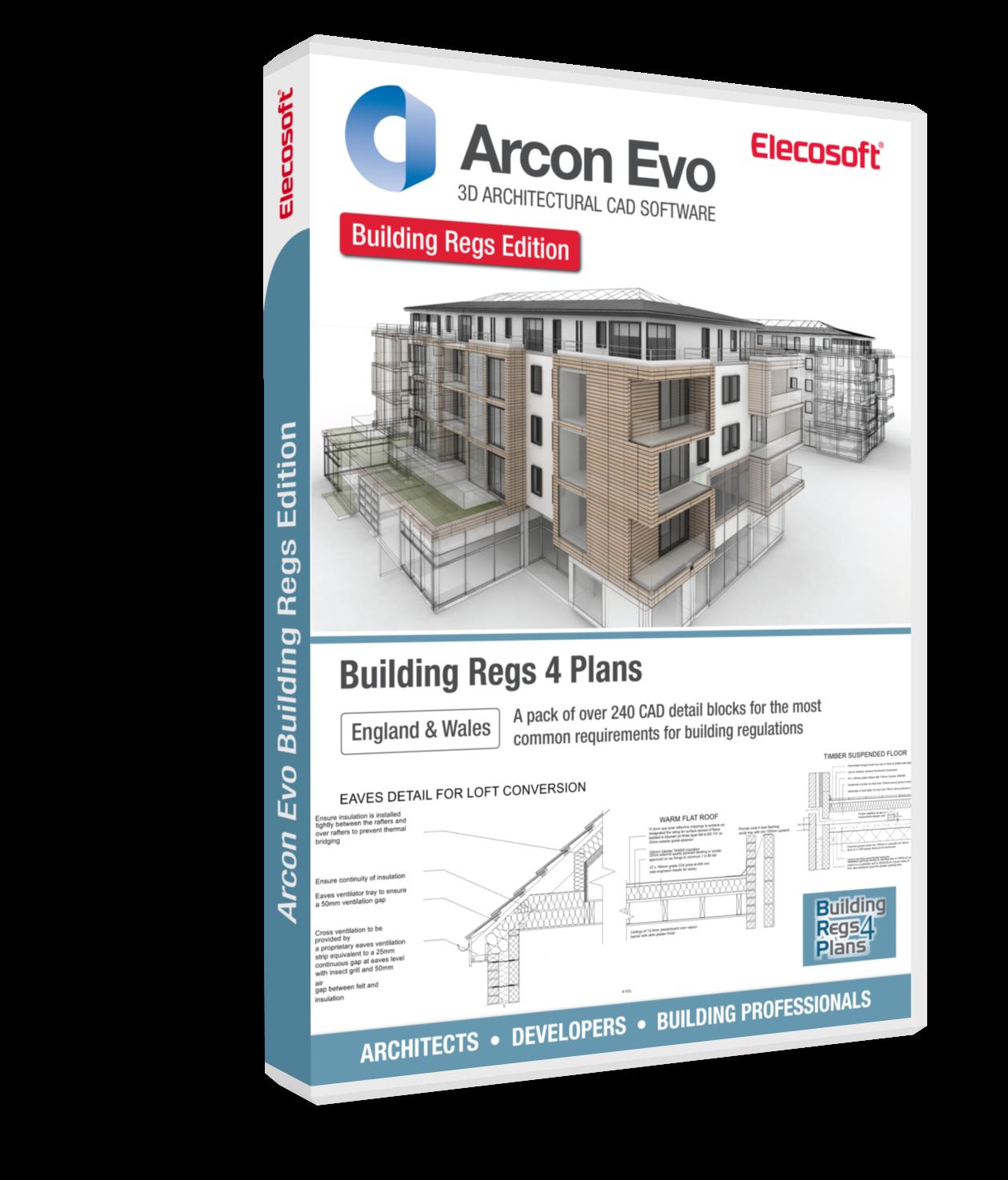 Arcon Evo architectural CAD software