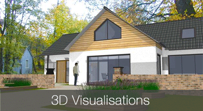 3D floor plans for home design