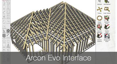 Arcon Evo software interface