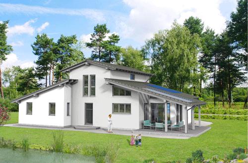 3D building design model