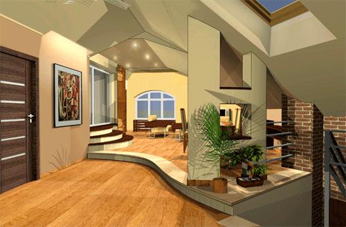 Design loft conversion or house extension