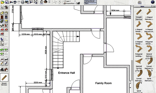Draw Floor Plans With 3D Architect