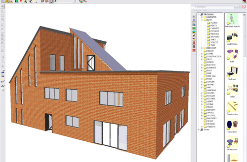 Cad drawing software to plan and visualise residential for Commercial building design software