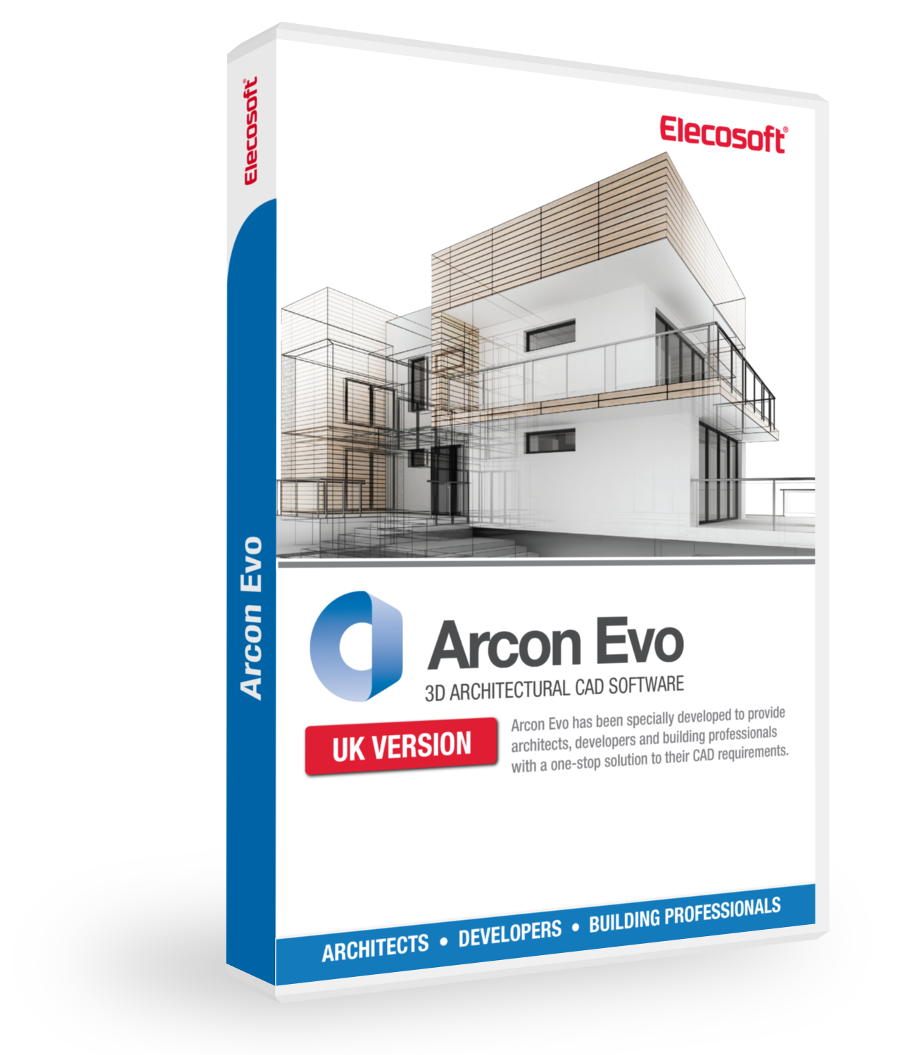Arcon Evo professional house design software
