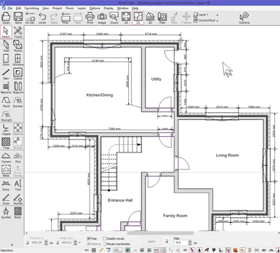 Download free architect cad program motoblogs for Architectural drafting programs free