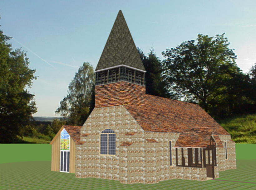 home design program used by 13th century church